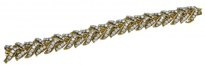 Amazing Hammerman Bros. Diamond and Gold Classic Bracelet