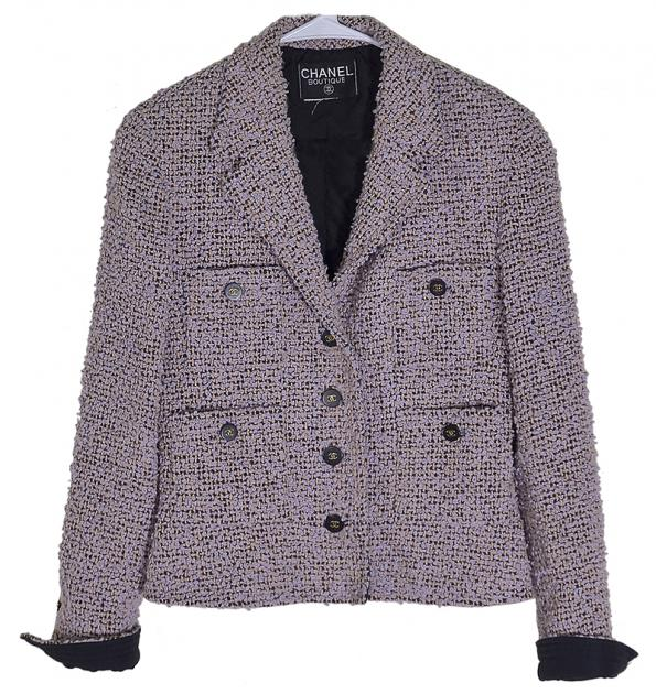 Beautiful Classic Chanel Boucle Jacket