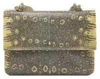 Iconic Darby Scott Lizard and Smokey Topaz Handbag