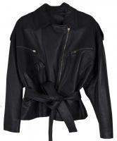 Iconic Vintage Donna Karan Leather Jacket