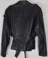 Iconic Vintage Donna Karan Leather Jacket