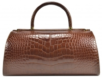 Classic Judith Leiber Alligator Top Handle Bag