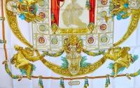 Gorgeous Hermes Silk Scarf