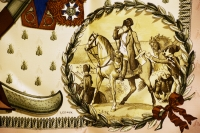 Sensational Hermes Napoleon Silk Scarf