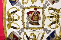 Hermes Grand Uniforme Silk Scarf