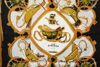 Gorgeous Hermes New Springs Silk Scarf