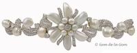 Ruser A Rare Pearl Diamond Gold Bracelet