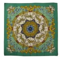 Gorgeous Hermes Carousel Silk Scarf