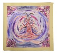 Beautiful Hermes Asian Inspired Silk Scarf