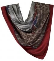 Fabulous Huge Valentino Silk a Shawl