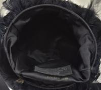 Rare Vintage Renaud Pellegrino Fantasy Feathers Handbag