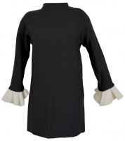 So Chic!!! Valentino Top with Ruffled Cuffs