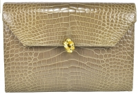Vintage Classic Helene Arpels Alligator Clutch Bag