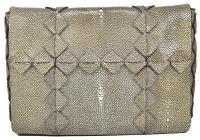 Beautiful Ferragamo Stingray Clutch/Shoulder bag