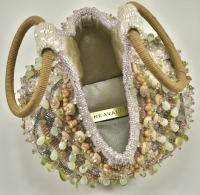 Gorgeous Bea Valdes Beaded Handbag
