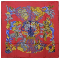 Magnificent Hermes Silk Scarf