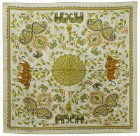 Magnificent Hermes Carre Kantra Silk Scarf